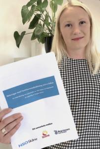 Rebecka Hansen med enkät om e-hälsa